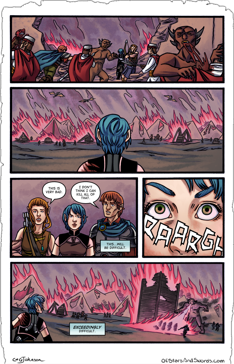 Issue 4 – Page 4: Beyond the Wall