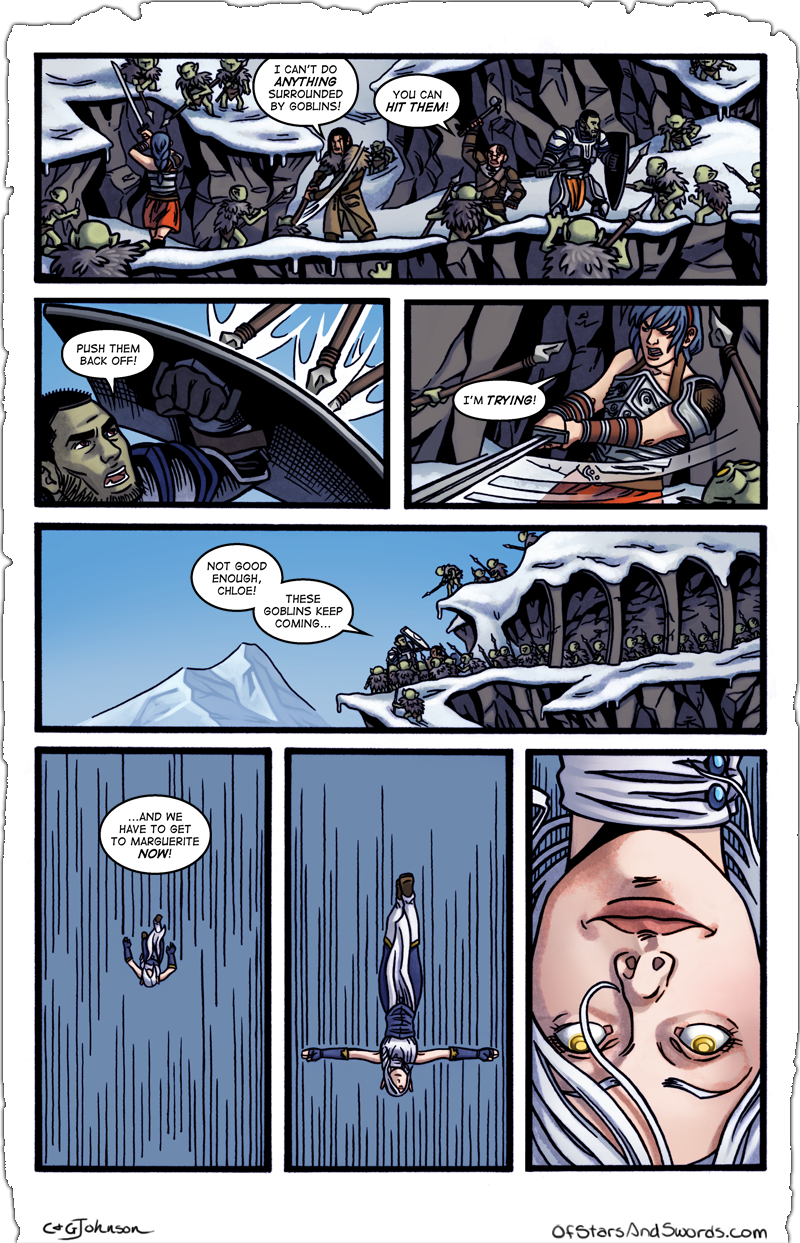 Issue 4 – Page 6: Overwhelmed