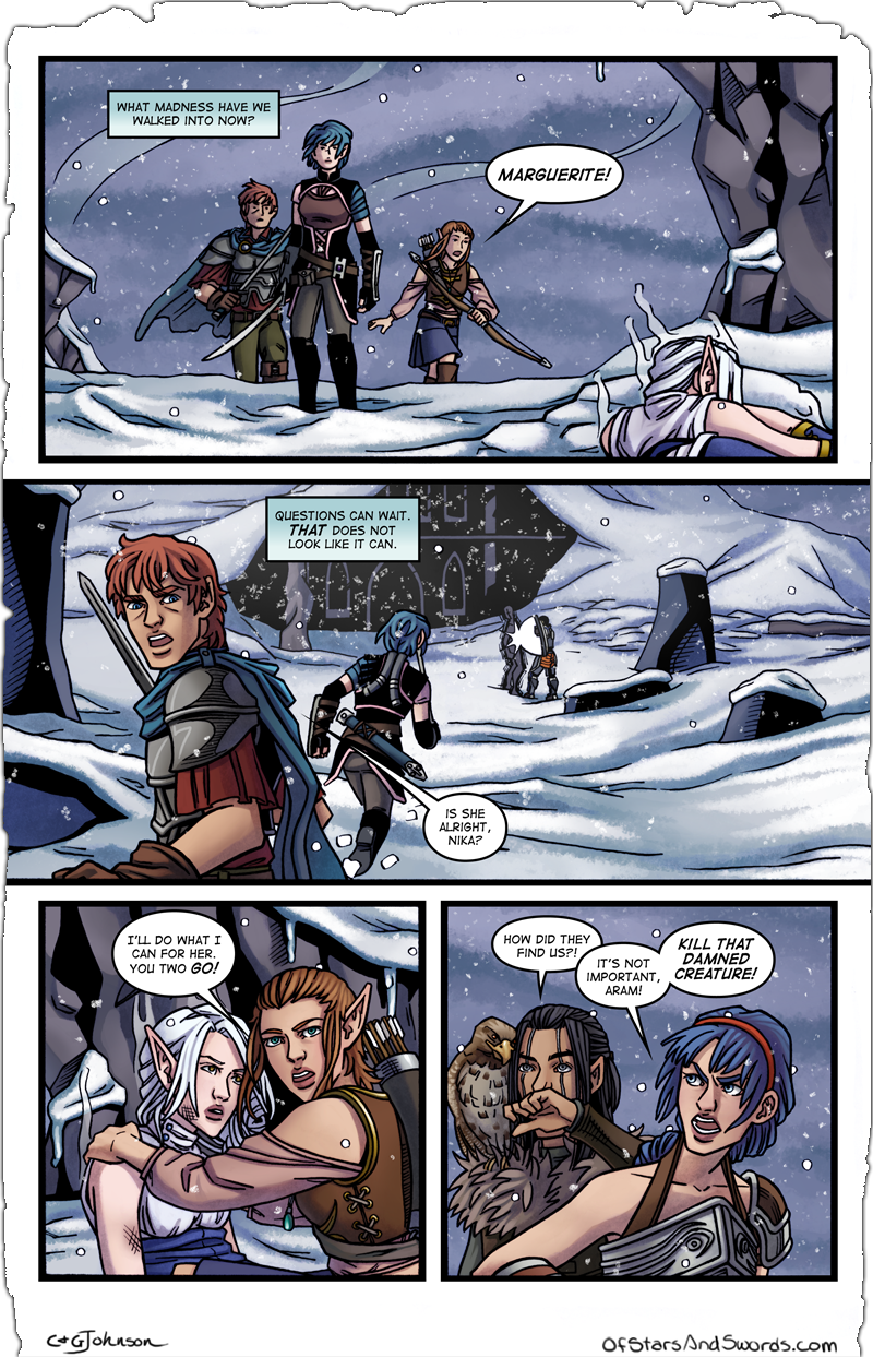 Issue 5 – Page 4: Reinforcements