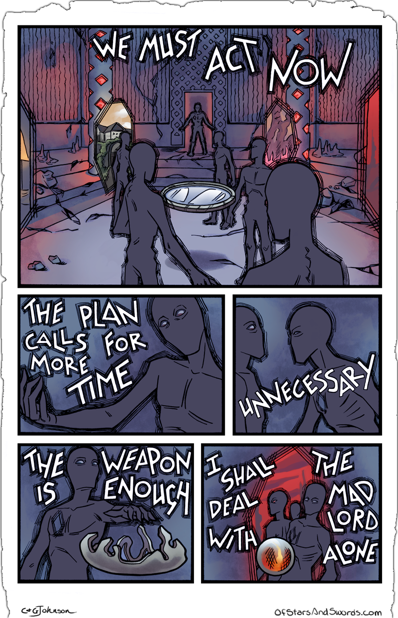 Issue 5 – Page 8: The Plan