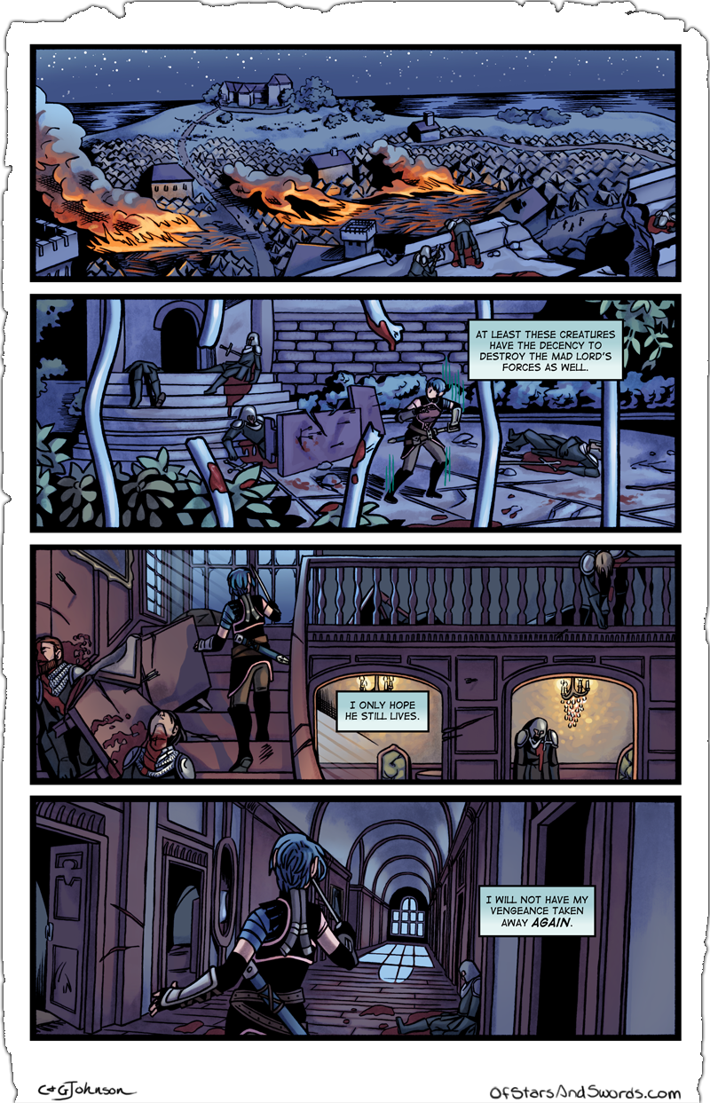 Issue 5 – Page 17: Arrival