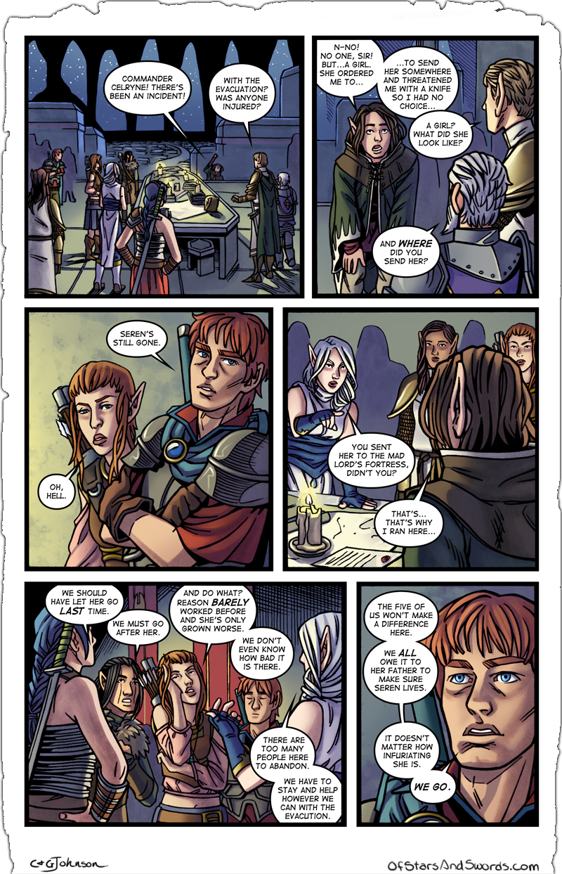 Issue 5 – Page 18: Catching Up