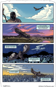 Issue One – Page 19: Aerial Scout