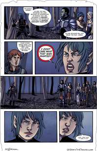Issue 2 – Page 3: Outburst