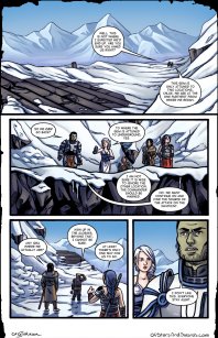 Issue 3 – Page 14: High Above