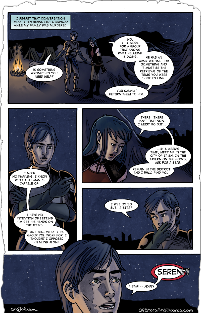 Page Eight: Regrets