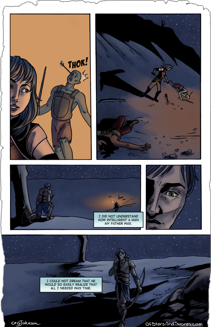 Page Thirteen: Disturbed Calm, Part 3