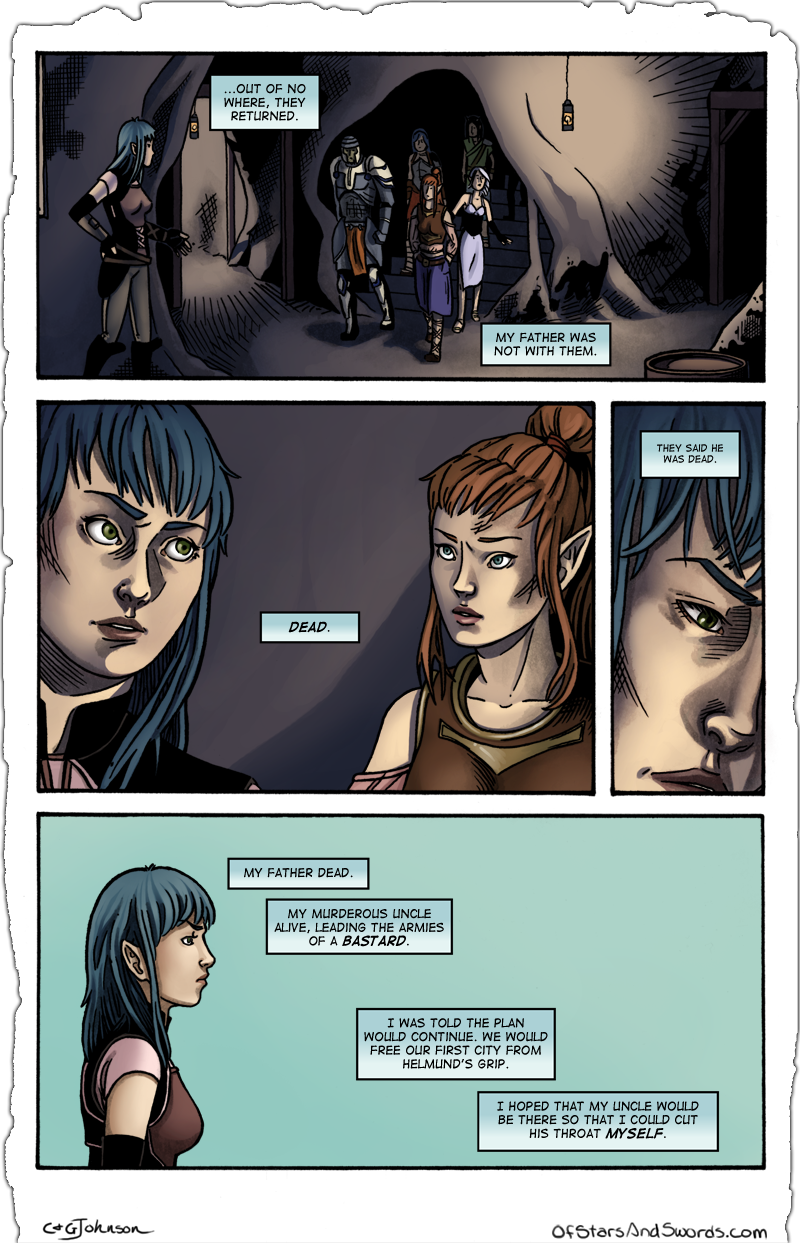 Page Eighteen: Return