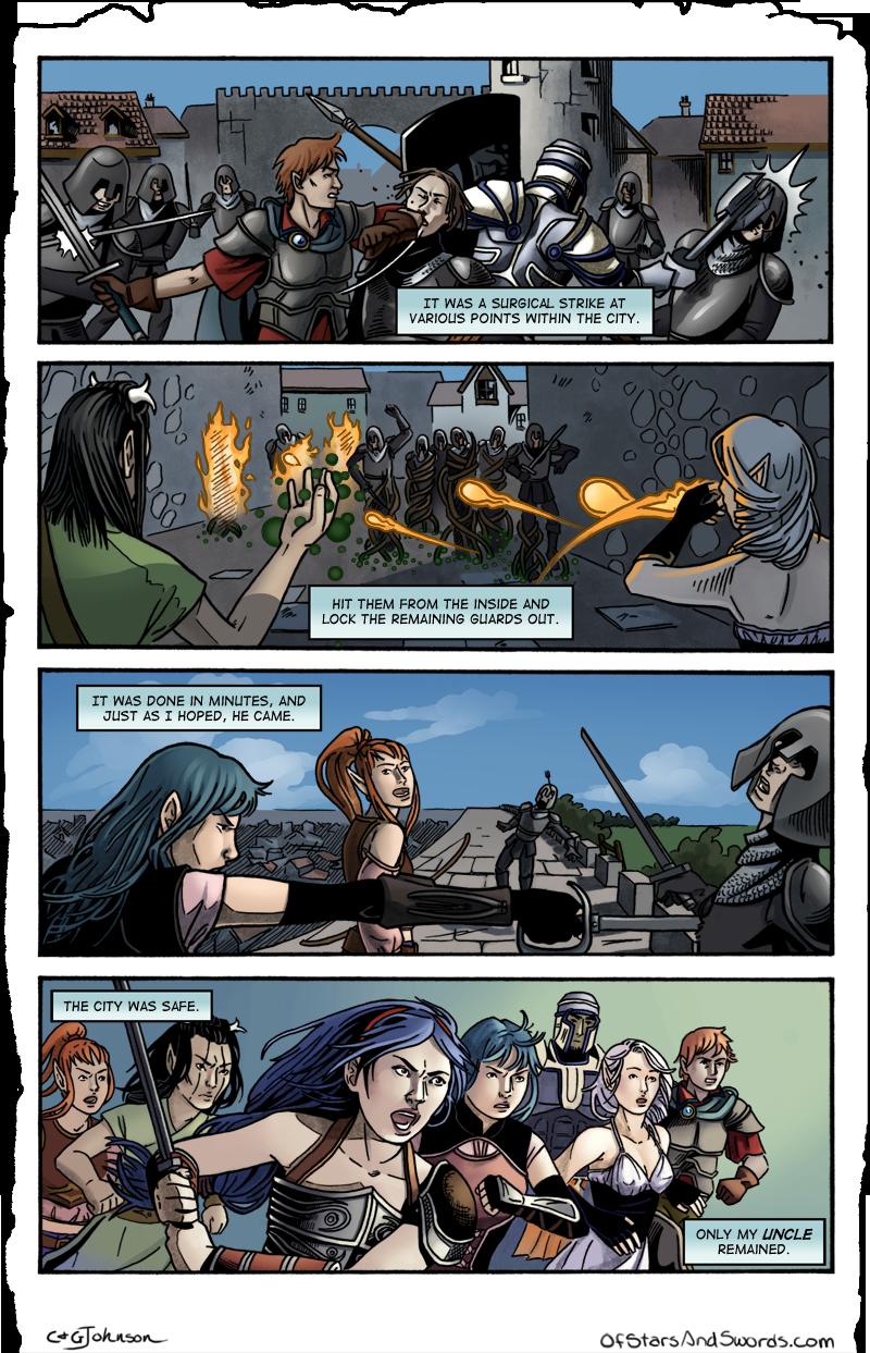 Page Nineteen: Swift Strike
