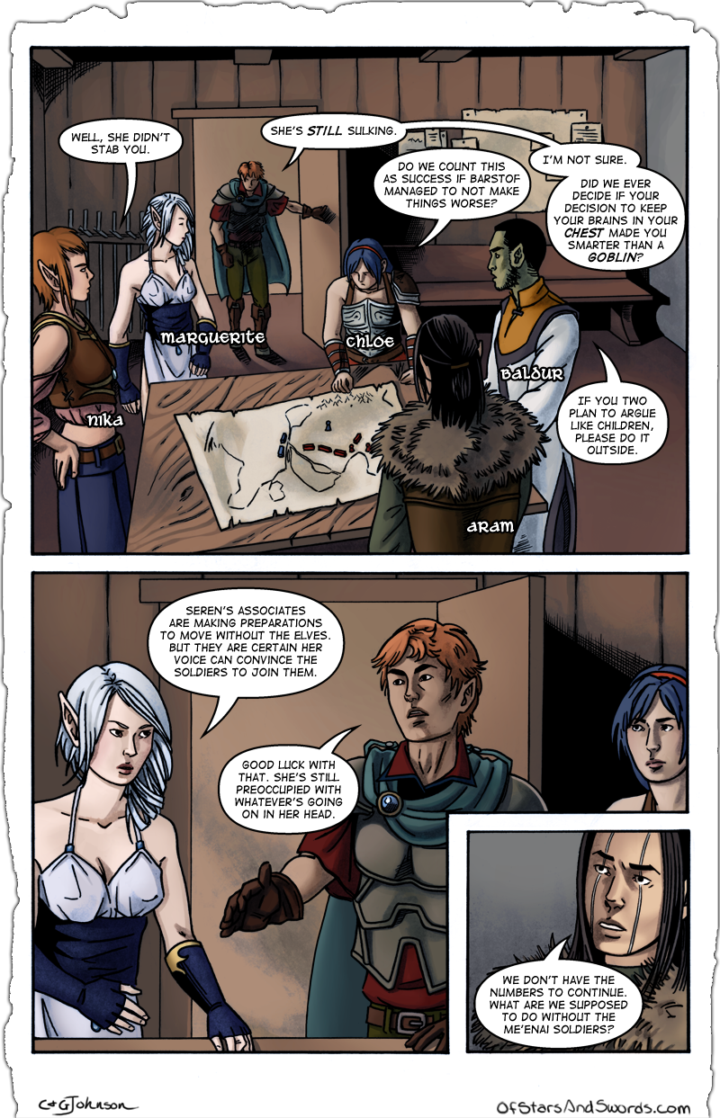 Issue 1 – Page 4: Planning Session