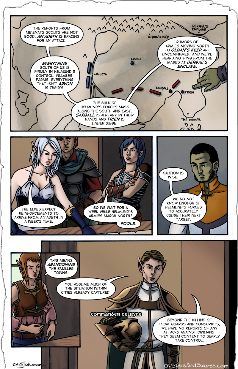 Issue 1 – Page 5: Planning Session, Part 2