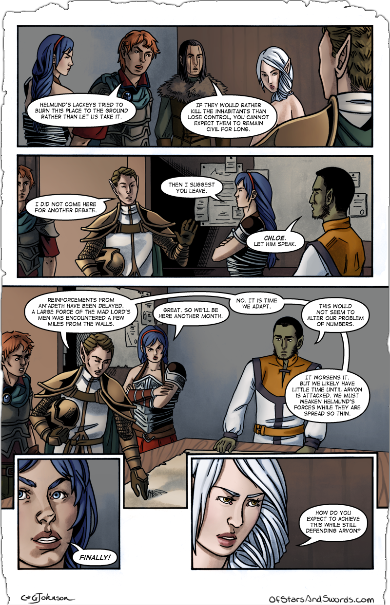 Issue 1 – Page 6: Planning Session, Part 3