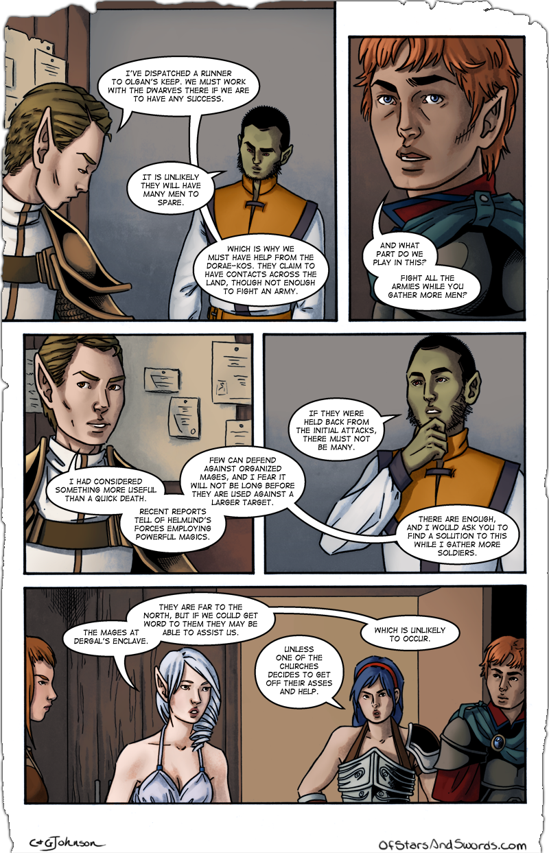 Issue 1 – Page 7: Planning Session, Part 4