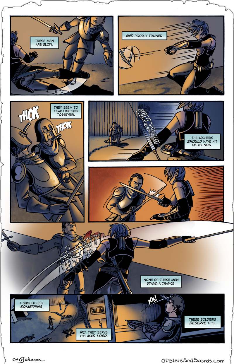 Issue 1 – Page 15: Outmatched