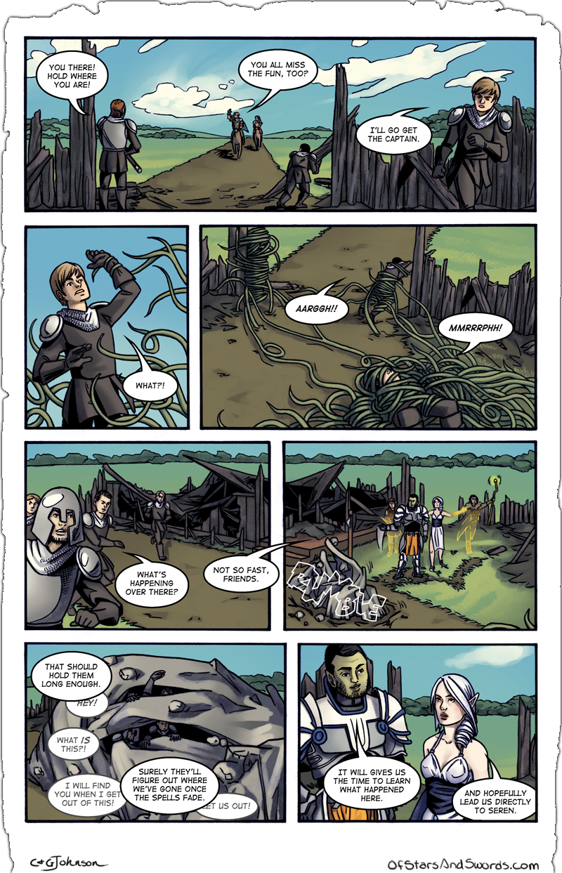 Issue 1 – Page 18: A Plan Comes Together