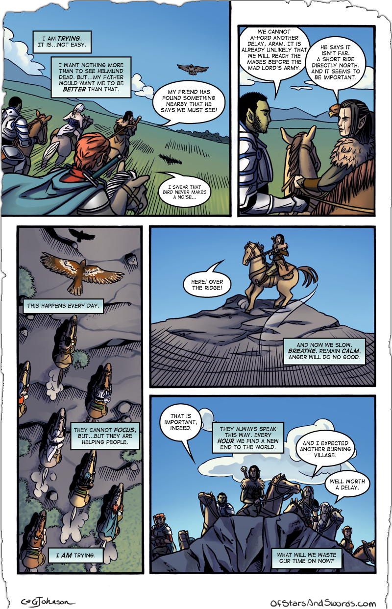Issue 2 – Page 6: Trying