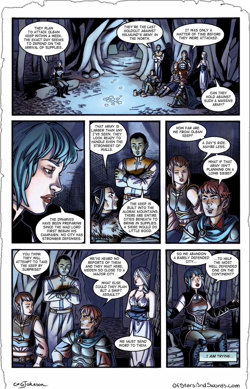 Issue 2 – Page 10: Distractions