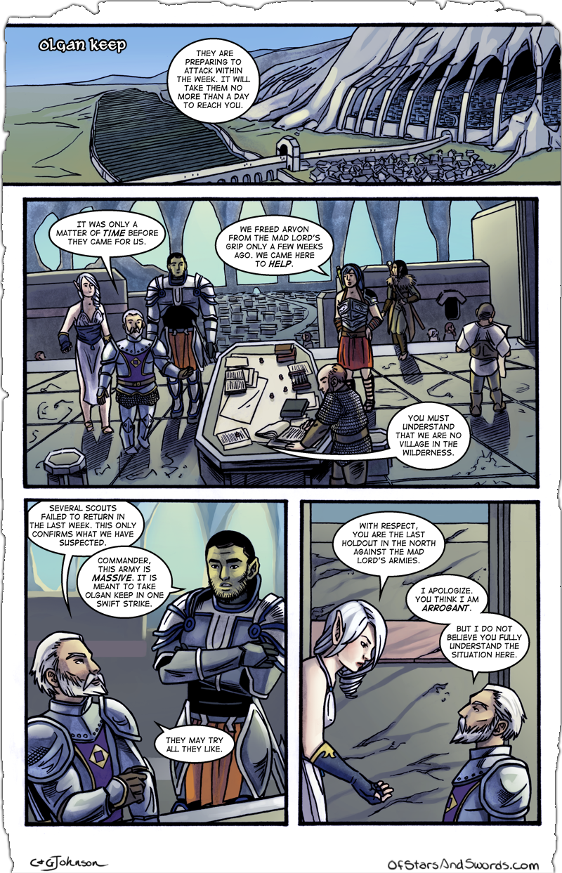 Issue 2 – Page 16: Arrogance