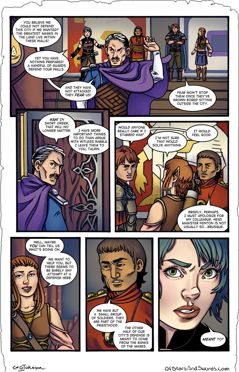 Issue 3 – Page 3: Divisions