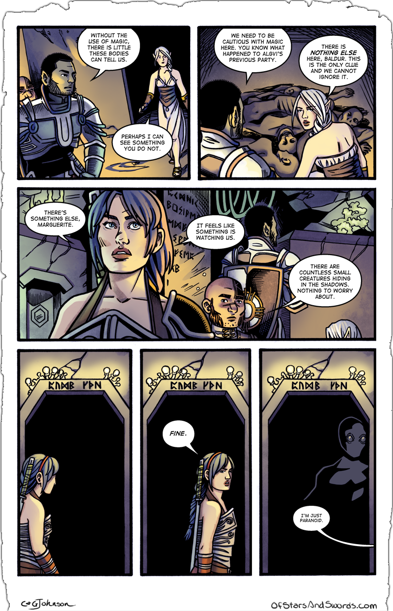 Issue 3 – Page 6: Shadows
