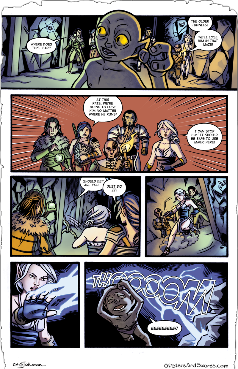 Issue 3 – Page 8: Pursuit