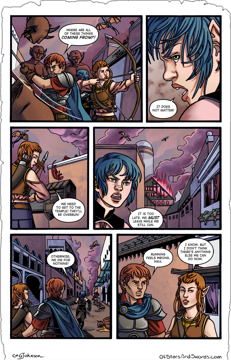 Issue 4 – Page 1: Chaos