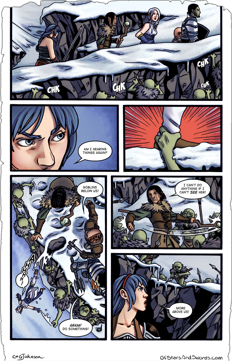 Issue 4 – Page 5: Surrounded