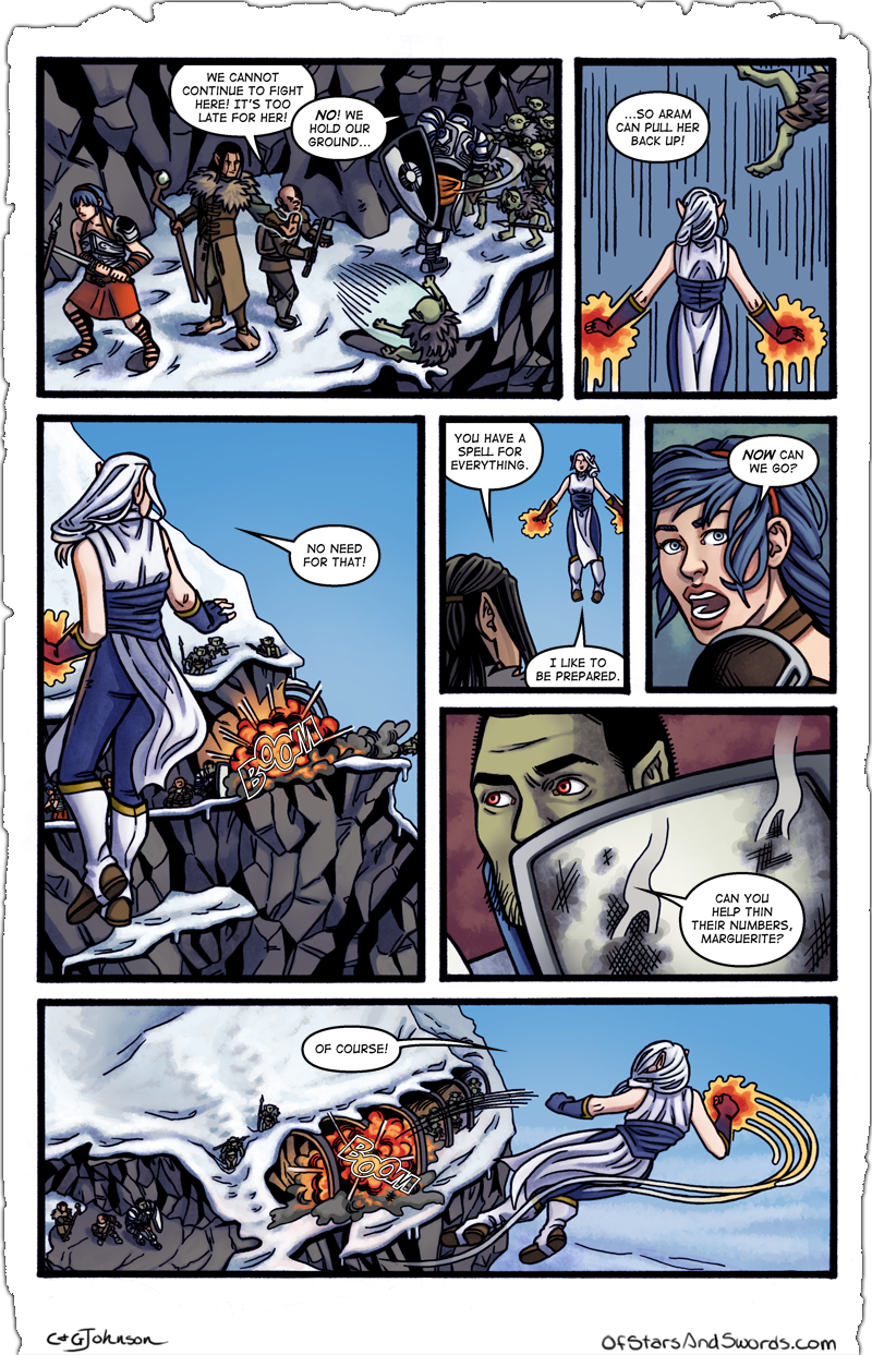 Issue 4 – Page 7: Always Prepared