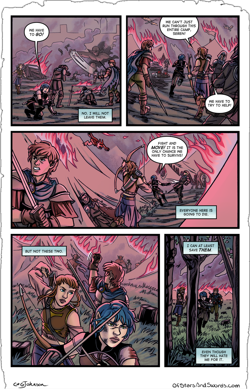 Issue 4 – Page 13: Through the Fire