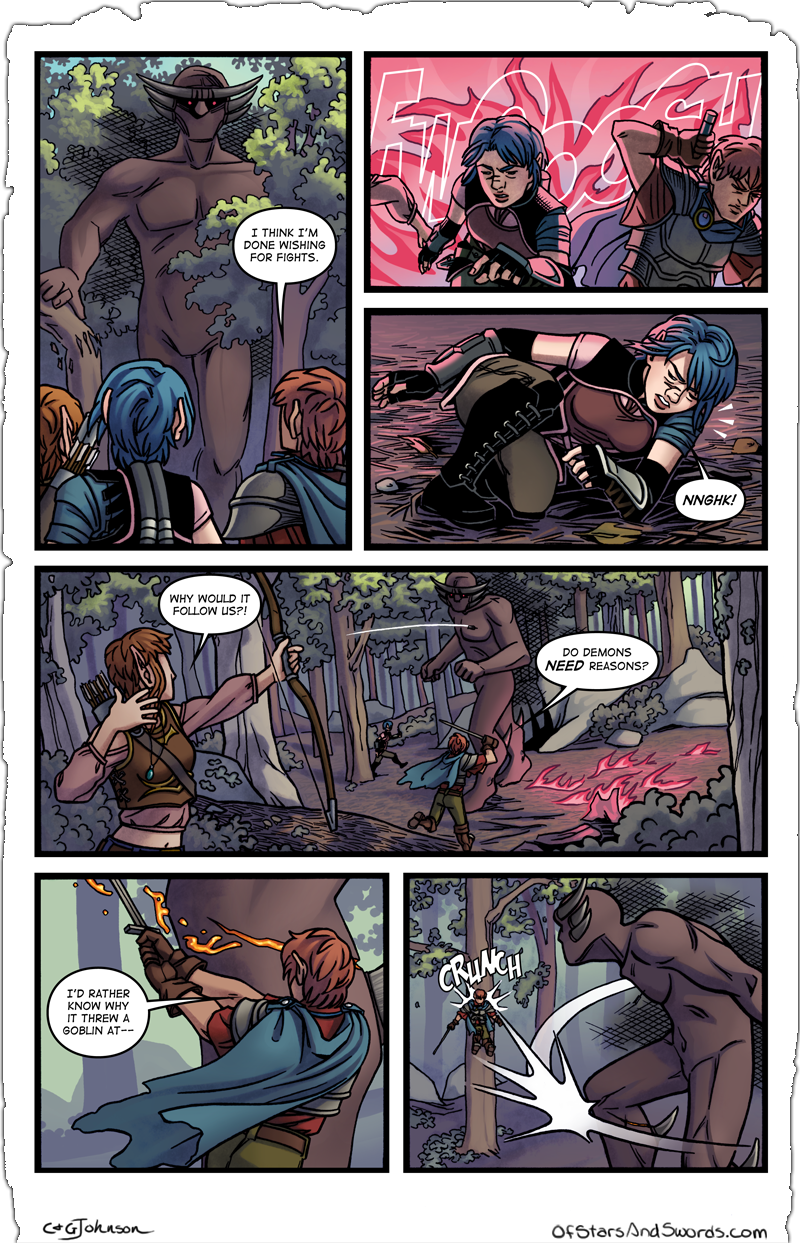 Issue 4 – Page 17: Followed