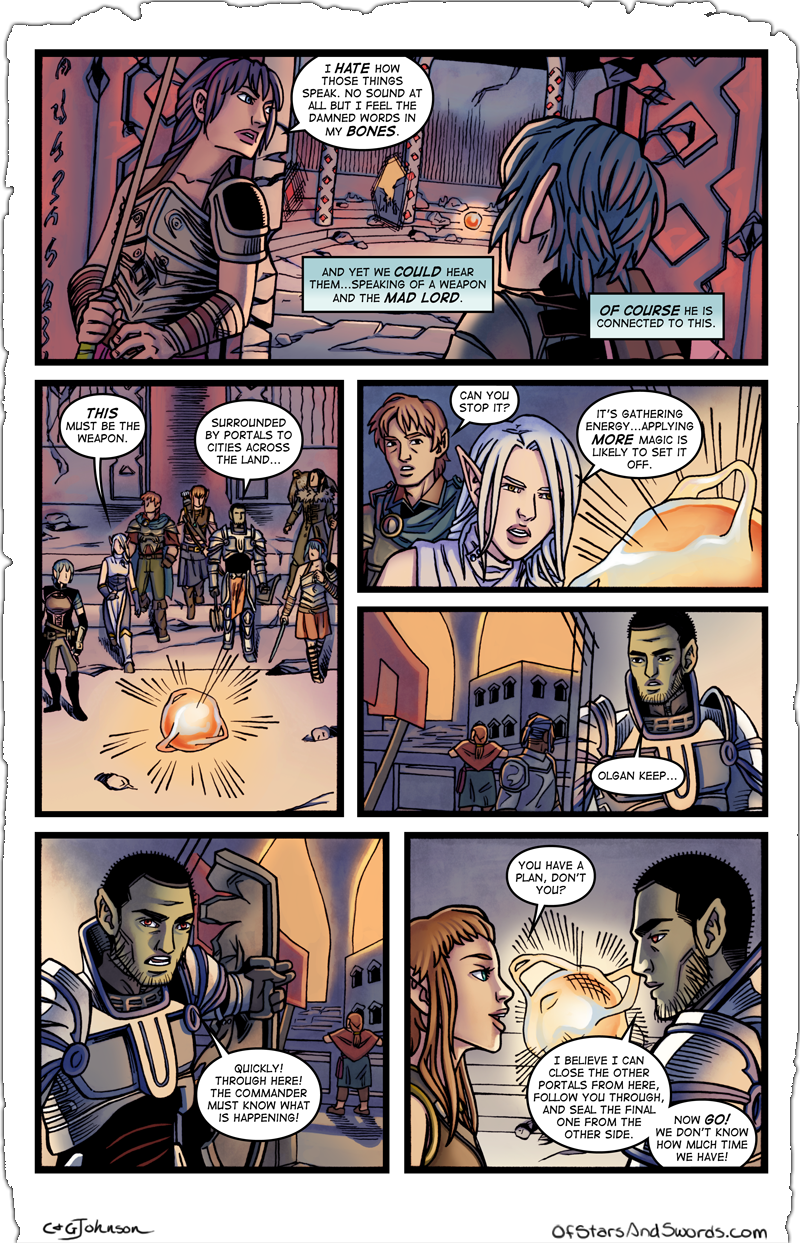 Issue 5 – Page 9: The Weapon